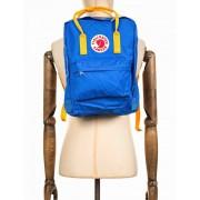 Fjallraven Kanken Classic Backpack - UN Blue-Warm Yellow Colour: UN Bl