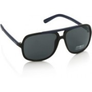 Kenneth Cole Rectangular Sunglasses(Grey)