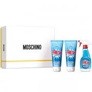 MOSCHINO SET CADOU FRESH COUTURE 100ml Apa de Toaleta + 100ml Lotiune de Corp + 100ml Gel de Dus, Femei 100 ml