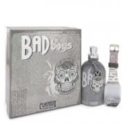 Clayeux Parfums Bad For Boys Eau De Toilette Spray + Free LED Watch 3.4 oz / 100.55 mL Men's Fragrances 543257