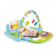 Saltea de joaca muzicala interactiva Baby Piano 5 in 1, Fetite si Baieti Centru de activitati pentru bebelusi (Gama: Interactiv, TIP PRODUS: Jucarii)