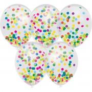 Haza 10x Confetti thema feest ballonnetjes 30 cm