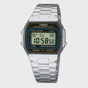 Casio Uhr A164WA-1VES - Zilver - Size: no size; unisex