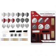 XQmax Darts Kit acessórios dardos pontas macias 90 pcs 18 g QD7000710