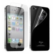 Folie protectie ecran + spate pentru Apple iPhone 4/4S