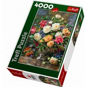 Trefl Puzzle Slagalica Flowers for The Queen Elizabeth 4000 kom (45003)