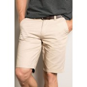 Southcape Chino Short - Stone - Mens Trousers