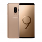 Telefon mobil Samsung G965F Galaxy S9 Plus Dual Sim LTE, Gold, RAM 6GB, Stocare 64GB