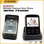 Videointerfon wireless KIVOS KDB302 (1v1) cu detectie miscare si vedere de noapte