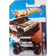 Hot Wheels 2011, Hummer H2 Sut Police Car 161/244. Hw Main Street. 1:64 Scale.