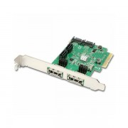 AXAGON PCES-SH4 PCIe 2-Lane Controller 4x Int./2x Ext. SATA PCES-SH4