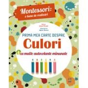 Prima mea carte despre culori Montessori