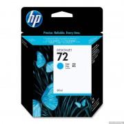 HP 72 Cyan Inkjet Print Cartridge, 69ml (C9398A)