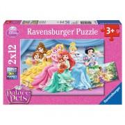 Puzzle Disney Princess Palace Pets, 24 piese