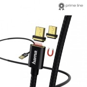 Hama Magnetic Charging/Data Cable microUSB 1m Black 178373
