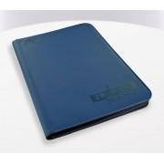 Ultimate Guard Zipfolio 360 - 18-Pocket XenoSkin - Blue