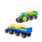 Polesie Traktor Majster s prívesom 45cm
