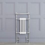 HudsonReed Sèche-serviettes rétro - Blanc - 93cm x 45cm x 23cm - Elizabeth
