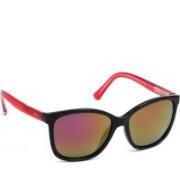 INVU Cat-eye Sunglasses(Red)