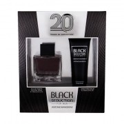 Antonio Banderas Seduction in Black confezione regalo eau de toilette 100 ml + balsamo dopobarba 75 ml Uomo
