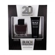 Antonio Banderas Seduction in Black confezione regalo eau de toilette 100 ml + balsamo dopobarba 75 ml da uomo