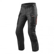 REV'IT! Sand 3 Pants, Textiel motorbroek heren, Zwart Kort