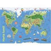 Harta lumii (plansa)/Nelson