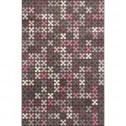 Dekoria Dywan Sevilla Puzzle Charisma Rose/Frost Grey 135x190cm, 135 × 190 cm