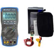 HOLDPEAK 760H Digitális multiméter VDC VAC ADC AAC frekvencia kapacitás hőmérséklet hFE TRMS.