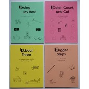 Rod and Staff Homeschool Preschool Activity Workbooks- Set of 4 (for 3 & 4 Year Old Children)