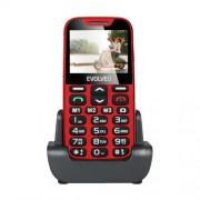 Evolveo EP-600 mobiltelefon időseknek (XD), piros