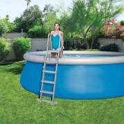 Bestway Стълба за басейн Flowclear, 4 стъпала, 132 см, 58332