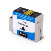 Epson Cartucho de tinta para EPSON C13T34614010 / 34 negro compatible (marca ASC)