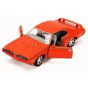 1969 Pontiac GTO Judge, Orange - Motormax Premium American 73242 - 1/24 Scale Diecast Model Car