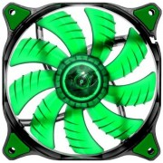 Ventilator Cougar Dual-X CFD series, 140mm (LED Verde)