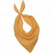 Kariban Gele basic bandana/hals zakdoeken/sjaals/shawls voor volwassenen