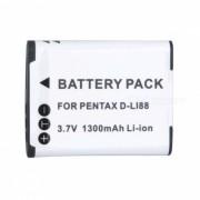 Bateria Li-ion D-LI88 3.7V 700mAh para PENTAX optio P70 sanyo VPC-CG10