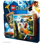 Qiyun Lego 70102 Legends of Chima Leonidas Chi Waterfall Set 5 New SEALED Retired 673419190077