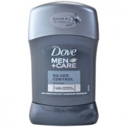 Dove Men+Care Silver Control antitranspirante en barra 48h 50 ml