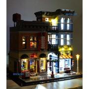 Brick Loot LED Lighting Kit for LEGO 10246 Detective s Office