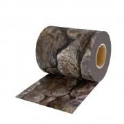 Jarolift Taśma osłonowa PVC z klipsami mocującymi, Wzór kamień, 19cm x 40m