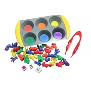 Color Sorting Learning Set- Sorting Tray and Pets/Farm Animal Manipulatives to Sort - Preschool and Toddler Sorting...
