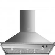 Smeg Opera KD90HXE 90cm Chimney Hood - Stainless Steel