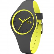 Ceas Unisex ICE Duo anthracite yellow, small