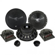 Komponentné reproduktory Hifonics Titan 16.5 cm, 165 mm, 250 W