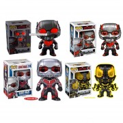 Funko Pop Set 4 Antman Giant Glow In The Dark Yellow Jacket