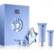 Mugler Angel lote de regalo XXV. eau de parfum 25 ml + leche corporal 100 ml + 15 ml + gel de ducha 30 ml
