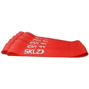 SKLZ Mini Bands - Red, piros erősítő hurok (közepes), 10 db