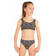 LITEX Dívčí plavky kalhotky středně vysoké 57576 140
