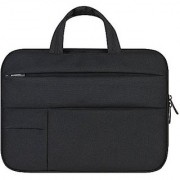 Aeoss 15.6 Man Felt Laptop Sleeve Laptop Sleeve Case Bag for Acer HP Asus Lenovo MacBook Pro Reitina (Black)